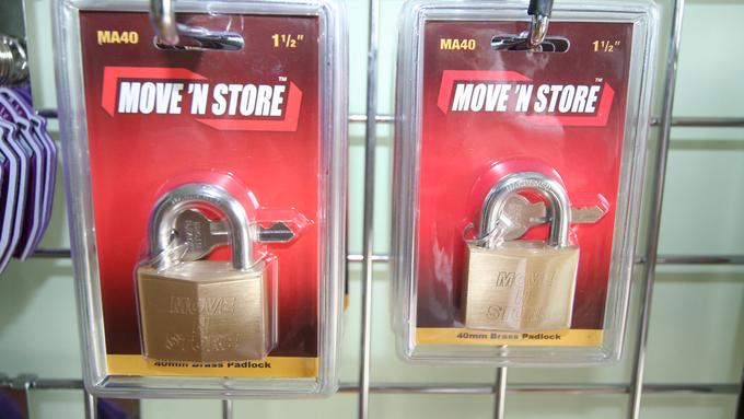 Self Storage Padlocks Available