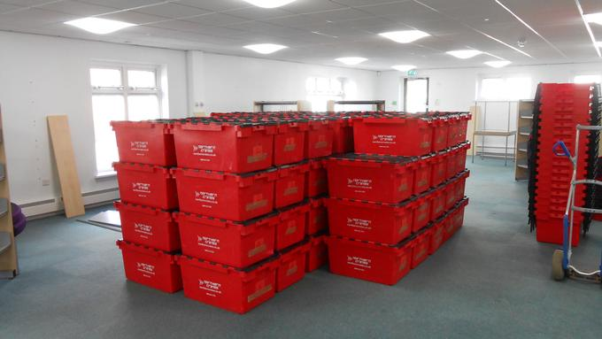 Office Removals Crate Rental Agent
