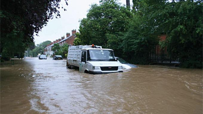 Disaster Recovery Flooding In Hull 2007