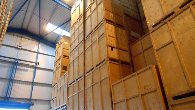 Imports Storage In The UK